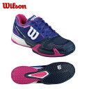 ウイルソン Wilsonテニスシューズ オールコート用 レディースRUSH PRO 2.0 ACWRS321090 テニス シューズ