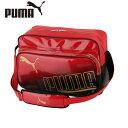 プーマ PUMAエナメルバッグ メンズ・レディースエナメル シャイニーB ショルダーバッグL 34L074049-03