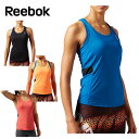 リーボック(Reebok) フィットネスウェア ノースリーブシャツ(レディース) ワンシリーズ アクティブチル タンクトップ BHY28