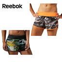 リーボック(Reebok) フィットネスウェア ショートパンツ(レディース) ワンシリーズ グラフィック ウーブンショーツ BGN21