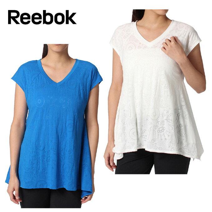 リーボック フィットネス フレアTシャツ