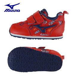 ミズノMIZUNOスニーカー ジュニアシューズCarpカープ坊やインファントRD11GRKC0262子供 男の子 女の子 こども 靴 運動靴 運動会