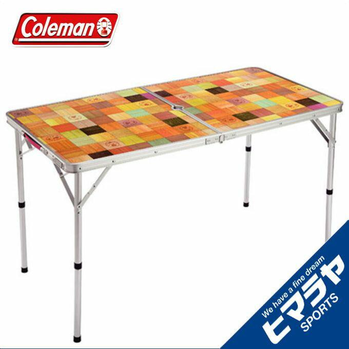 コールマンアウトドアテーブル大型テーブルナチュラルモザイクリビングテーブル/120プラス200002