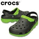 クロックス crocs サンダル ユニセックス デュエット マックス クロッグ201398