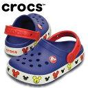 クロックス crocs サンダル ジュニア クロックスライツ ミッキー クロッグ キッズ203072