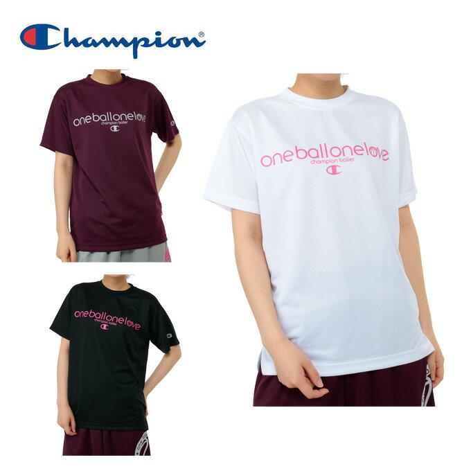 【エントリーかつ店頭受取でポイント3倍】チャンピオン Championバスケットボール レディース半袖プラクティスTシャツCWSHB301