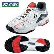 ヨネックス(YONEX) テニスシューズ オムニ・クレー用(メンズ・レディース) パワークッション 102(WH/OR) SHT102-386