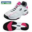 ヨネックス(YONEX) テニスシューズ オムニ・クレー用(メンズ・レディース) パワークッション 102(WH/PI) SHT102-181