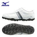 ミズノ MIZUNOゴルフシューズ スパイクレス 靴 メンズ...