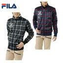 フィラ ( FILA ) ゴルフ ナイロンジャケット ( メンズ ) チェックボンディングジャケット 786222