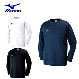 <strong>ミズノ</strong> MIZUNO スポーツウェア 長袖シャツ メンズ Tシャツ 長袖 32JA6130