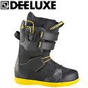 ディーラックス DEELUXEスノーボードブーツ ひもタイプ メンズTHE BRISSE Black