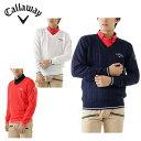 キャロウェイ ( Callaway ) ケーブルVネックニット 241-6260505 メンズゴルフセーター
