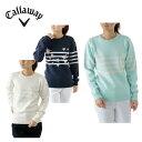 キャロウェイ Callawayゴルフ セーター レディーススターJQクルーネックニット241-6260811
