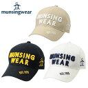 マンシング Munsingwearゴルフ メンズツイルキャップAM3276