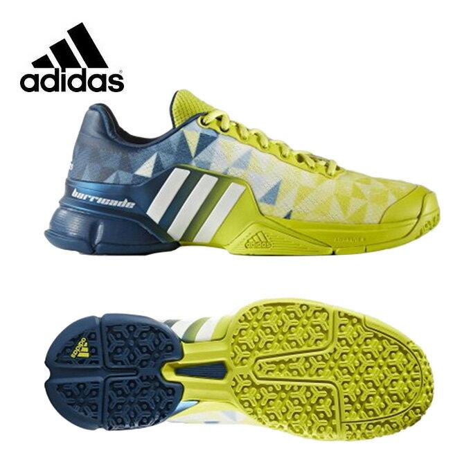 アディダス ( adidas ) テニスシューズ ( メンズ )  バリケード 2016 オムニクレー CEQ14 ( AQ2269 )  【アディダス 2016秋冬】
