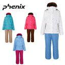 【D10倍 P7倍 G5倍 12/8 1:59まで】フェニックス ( Phenix ) スキー上下セット ( ジュニア ) Snow Crystal Girl'...