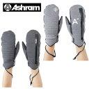 アシュラム ( ASHRAM ) ウインターアクセサリー ミトングローブ ( メンズ レディース ) TRAINER トレーナー ASRM16W09