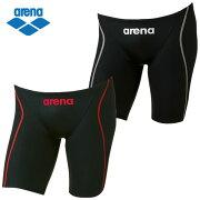 アリーナ FINA承認 競泳水着 ハーフスパッツ メンズ FINA Xパイソン2スパッツ ARN-7022M arena スイムウェア 水着