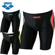 アリーナ FINA承認 競泳水着 ハーフスパッツ メンズ マスターズSP ARN-7052M arena スイムウェア 水着