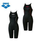 アリーナ FINA承認 競泳水着 ハーフスパッツ レディース Xパイソン2 クロスバック ARN-7020W arena