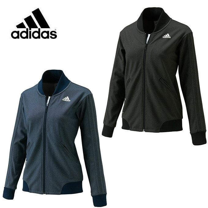 アディダス ( adidas ) トレーニングジャケット ( レディース ) 24/7 デニム風ジャージジャケット DMW37 ( BR6528 BR6531 )