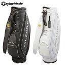 テーラーメイド TaylorMade ゴルフ キャディバッグ メンズ グローレ スタンダード カートバッグ 17 LOA11