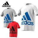 アディダス adidasジュニアウェア 半袖 ジュニアBoys ESS スーパービッグロゴ TシャツMLB27