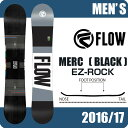 フロー FLOW スノーボード板 メンズ MERC BLAC...