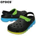 クロックス crocs サンダル メンズ duet max ombre clog デュエット マックス オンブレ クロッグ 204150
