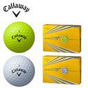 【基本送料無料 10/3 17:00〜10/11 8:59】 キャロウェイ Callaway ゴルフボール 1ダース 12個入 ウォーバード WARBIRD