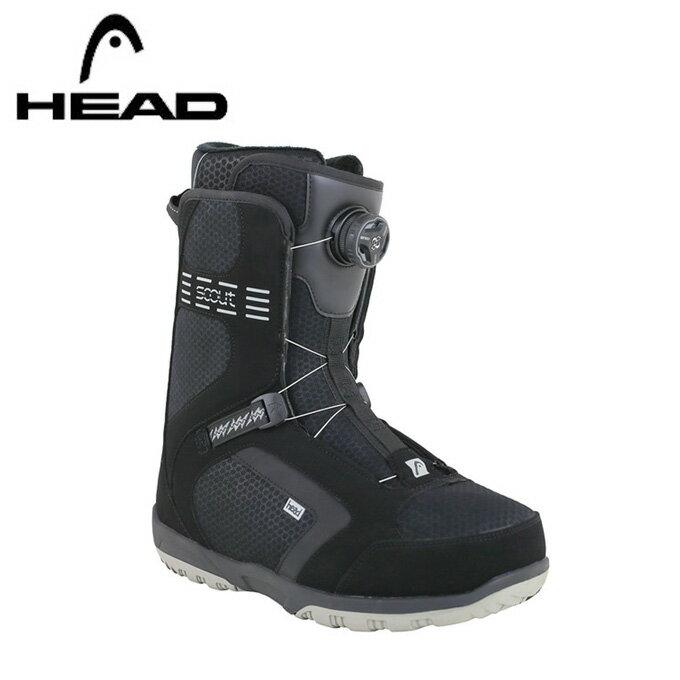 ヘッド HEAD スノーボードブーツ ダイヤルタイプ メンズ スカウト プロ ボア SCOUT PRO BOA