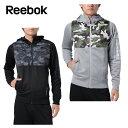 【エントリーかつ店頭受取でポイント3倍】リーボック Reebok スウェットジャケット メンズ ワンシリーズ Wハイブリッドスウェット フルジップパーカー DRJ54
