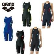 アリーナ arena FINA承認モデル 競泳水着 ガールズ ジュニア ハーフスパッツ ARN-7050WJ スイムウェア 水着