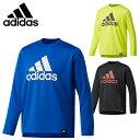 アディダス Tシャツ 長袖 ジュニア Boys TRN CLIMALITE クルーネック長袖Tシャツ DUV93 adidas