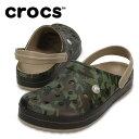 クロックス crocs サンダル メンズ Crocband Camo II Clog クロックバンド...
