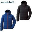 モンベル mont bell アウトドア ジャケット メンズ パーマフロスト ライトダウンパーカ 1101501