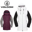 ボルコム VOLCOM スノーボードウェア ジャケット レディース STAVE JACKET H0651806