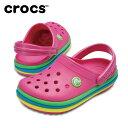 クロックス クロックバンド レインボー バンド クロッグ キッズ 205205 crocs