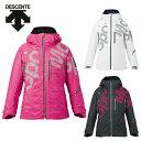 デサント DESCENTE スキーウェア ジャケット レディース LADIES' S.I.O JACKET 60 / MOVE SPORT DRA-7280W