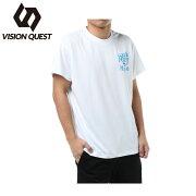 ビジョンクエスト VISION QUEST スポーツウェア 半袖Tシャツ メンズ T&F文字Tシャツ VQ561012H01