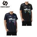 ビジョンクエスト VISION QUEST スポーツウェア 半袖Tシャツ メンズ T&FプリントTシャツ VQ561012H04
