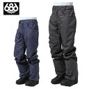 686 シックスエイトシックス スノーボードウェア パンツ メンズ Raw Insulated Pant ロー インスユレーティド パンツ L7W209