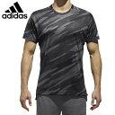アディダス テニスウェア Tシャツ 半袖 メンズ ML AOP Tシャツ CG2525 DRS20 adidas バドミントンウェア