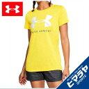 アンダーアーマー Tシャツ 半袖 レディース テックグラフィックツイストクルー トレーニング WOMEN 1309897-159 UNDER ARMOUR