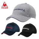 ルコック le coq sportif キャップ 帽子 メンズ メッシュキャップ QMBLJC01