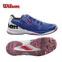 ウィルソン テニスシューズ オールコート メンズ KAOS 2.0 AC ケイオス WRS323830 Wil