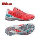 ウィルソン テニスシューズ オムニクレー レディース KAOS 2.0 OC ケイオス WRS324190 Wilson