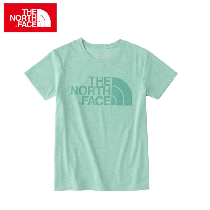 ノースフェイス Tシャツ レディース 半袖 Color Heather Logo Tee NTW31854 ZG THE NORTH FACE
