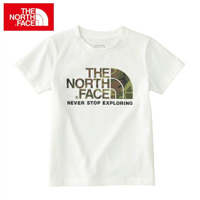 ノースフェイス THE NORTH FACE 半袖 Tシャツ ジュニア ショートスリーブカモロゴティー キッズ ベビー NTJ31824